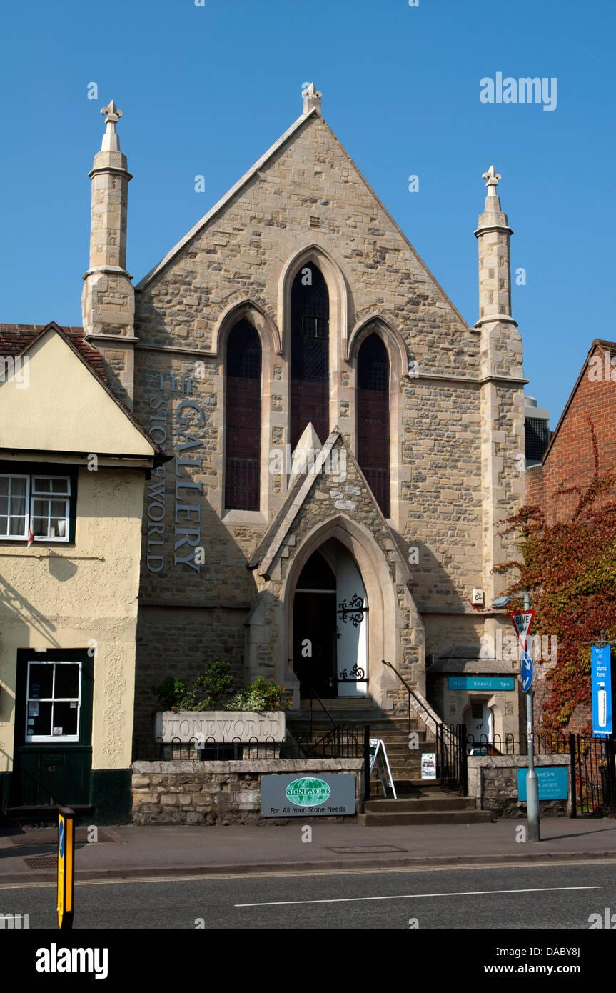 The Stoneworld Gallery, Thame, Oxfordshire, UK - Stock Image