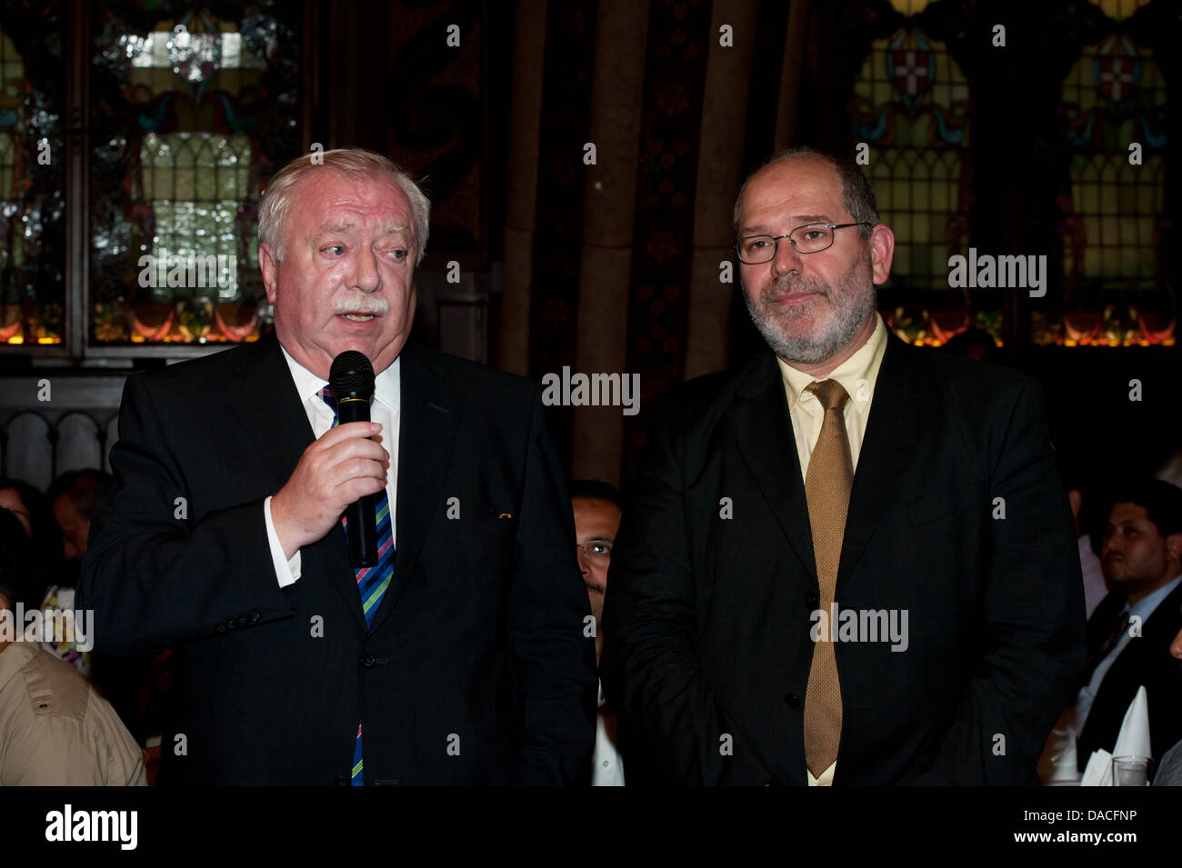 Representatives of the Muslim community in Vienna and Mayor Dr. Michael Häupl - Stock Image