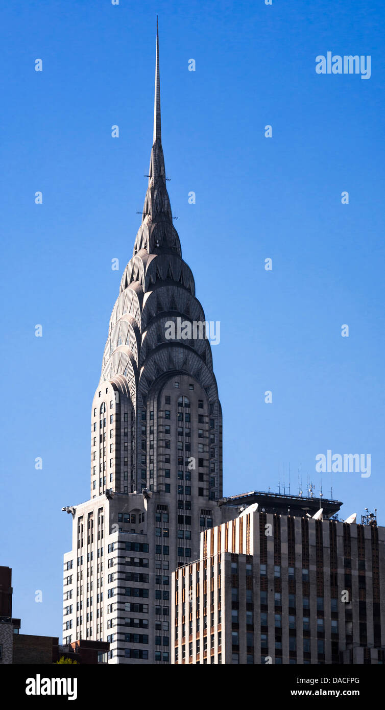 The Chrysler Building, Manhattan, New York City, USA. - Stock Image