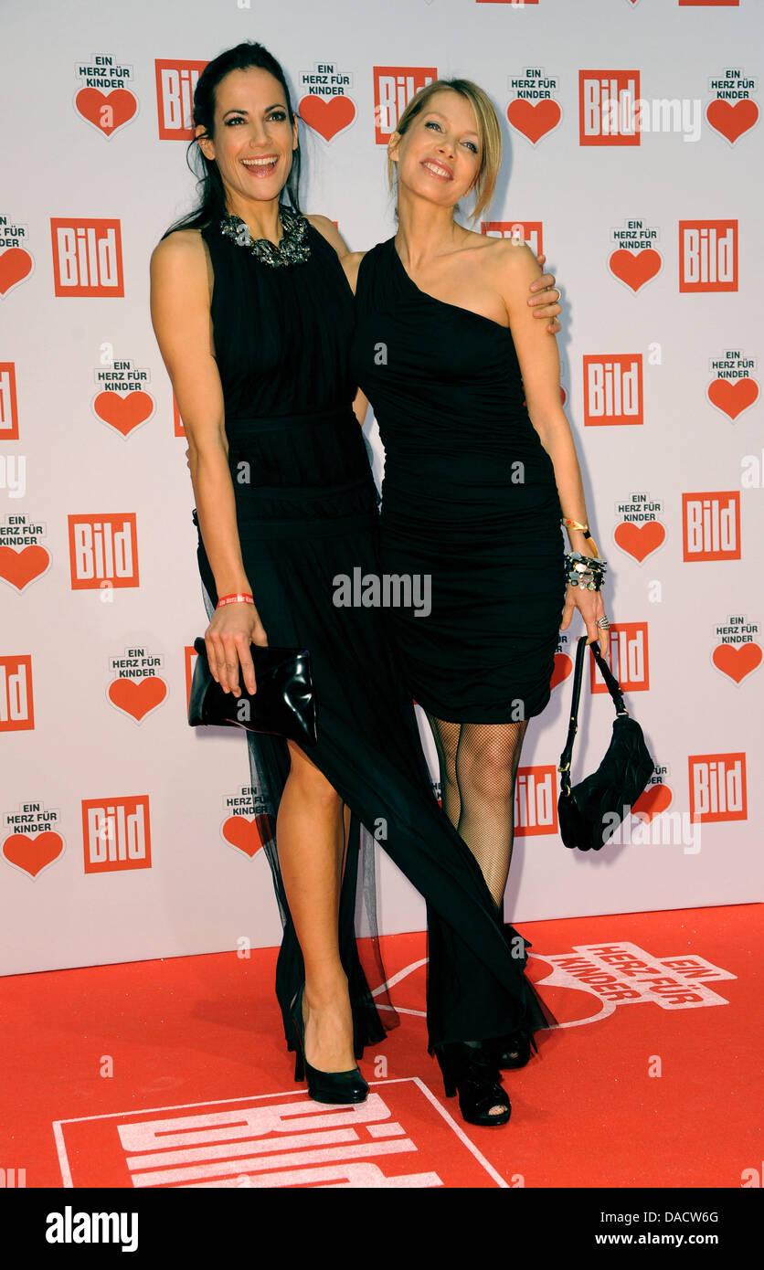 Bettina zimmermann high heels