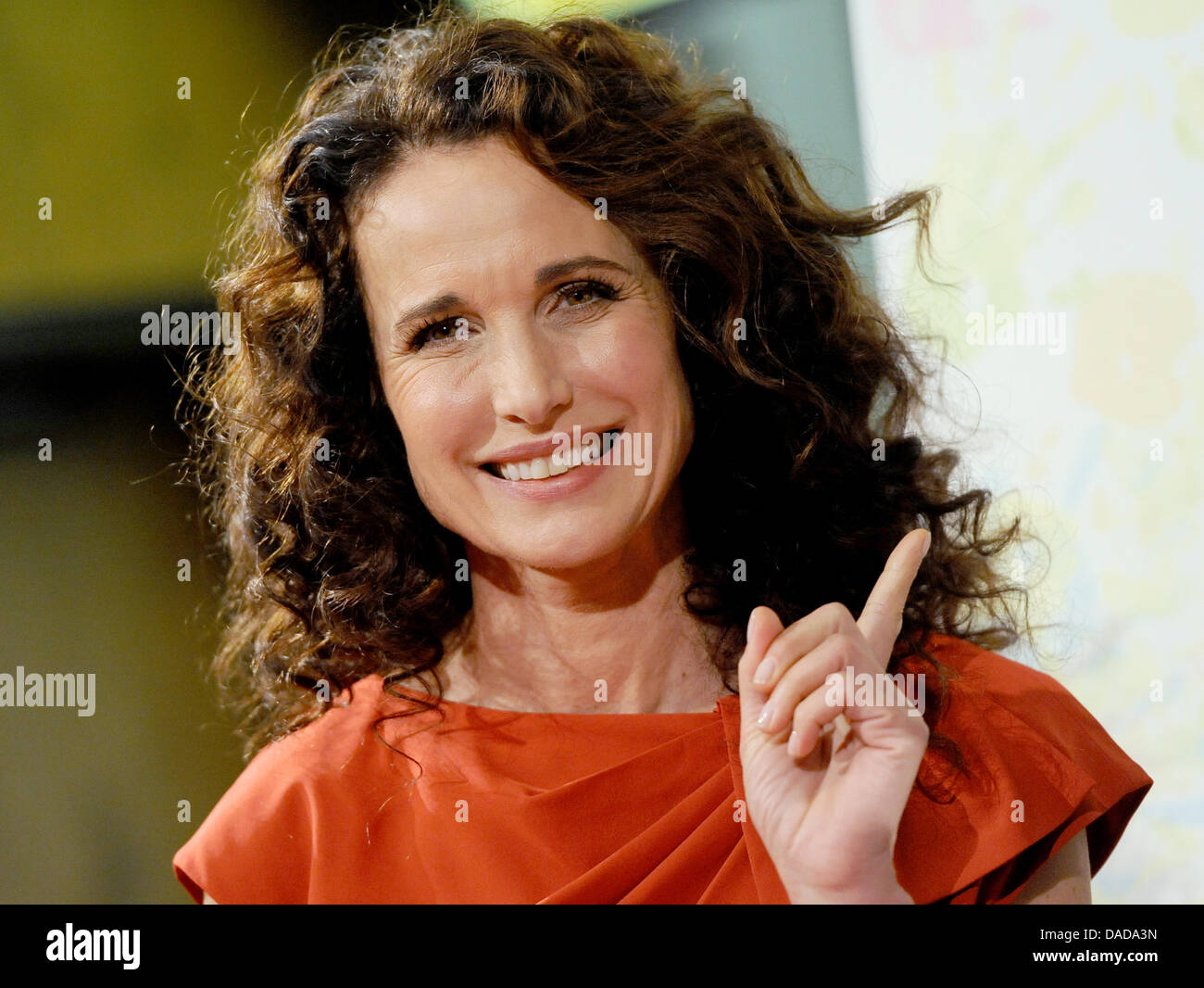 Andie Macdonald american actress andie macdowell prmotes the charity