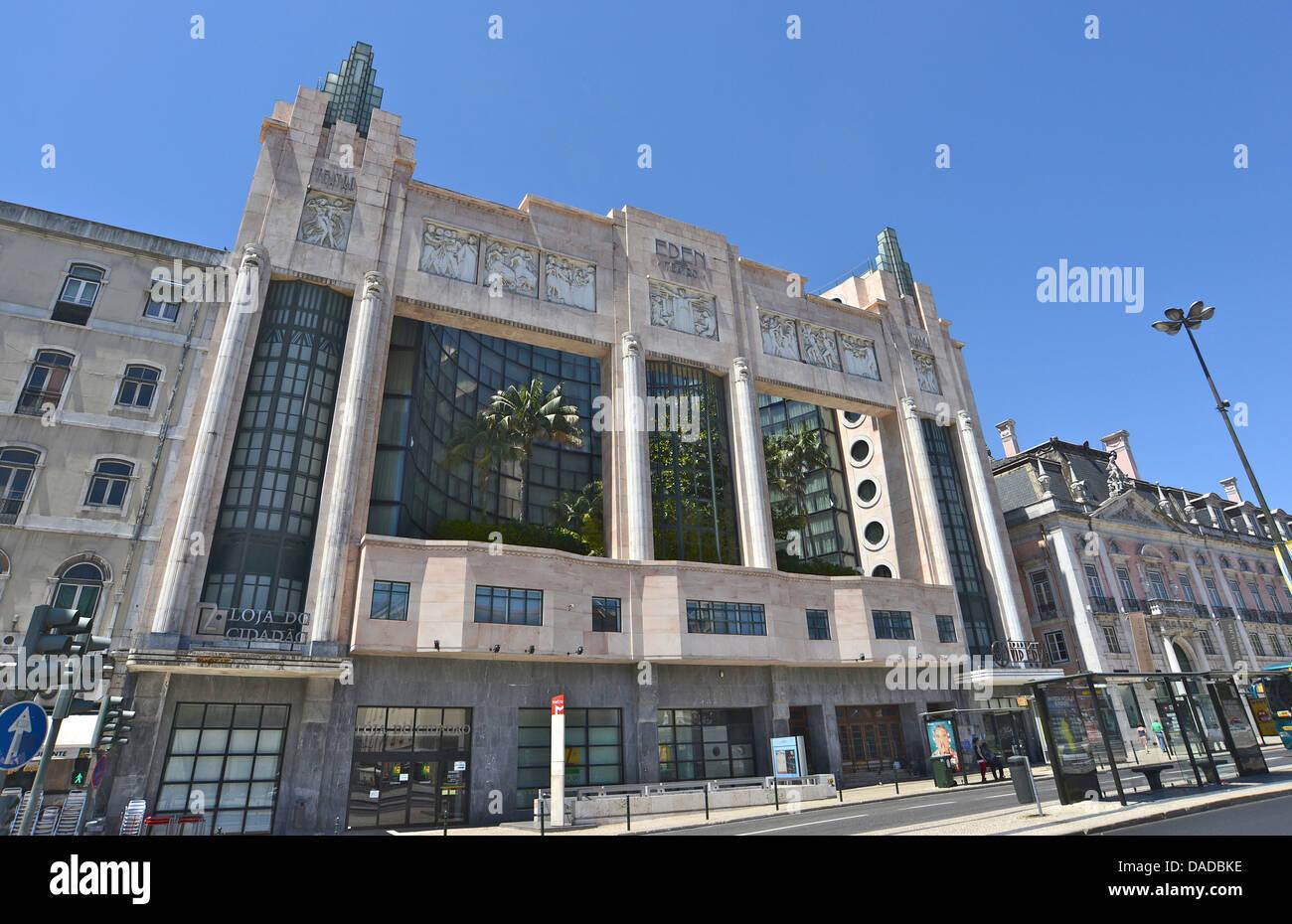 VIP Eden hotel Lisbon - Stock Image
