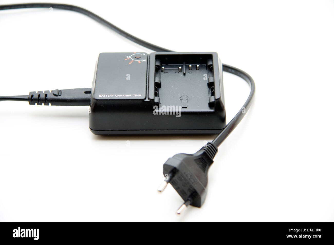 Battery charger for accumulator - Stock Image