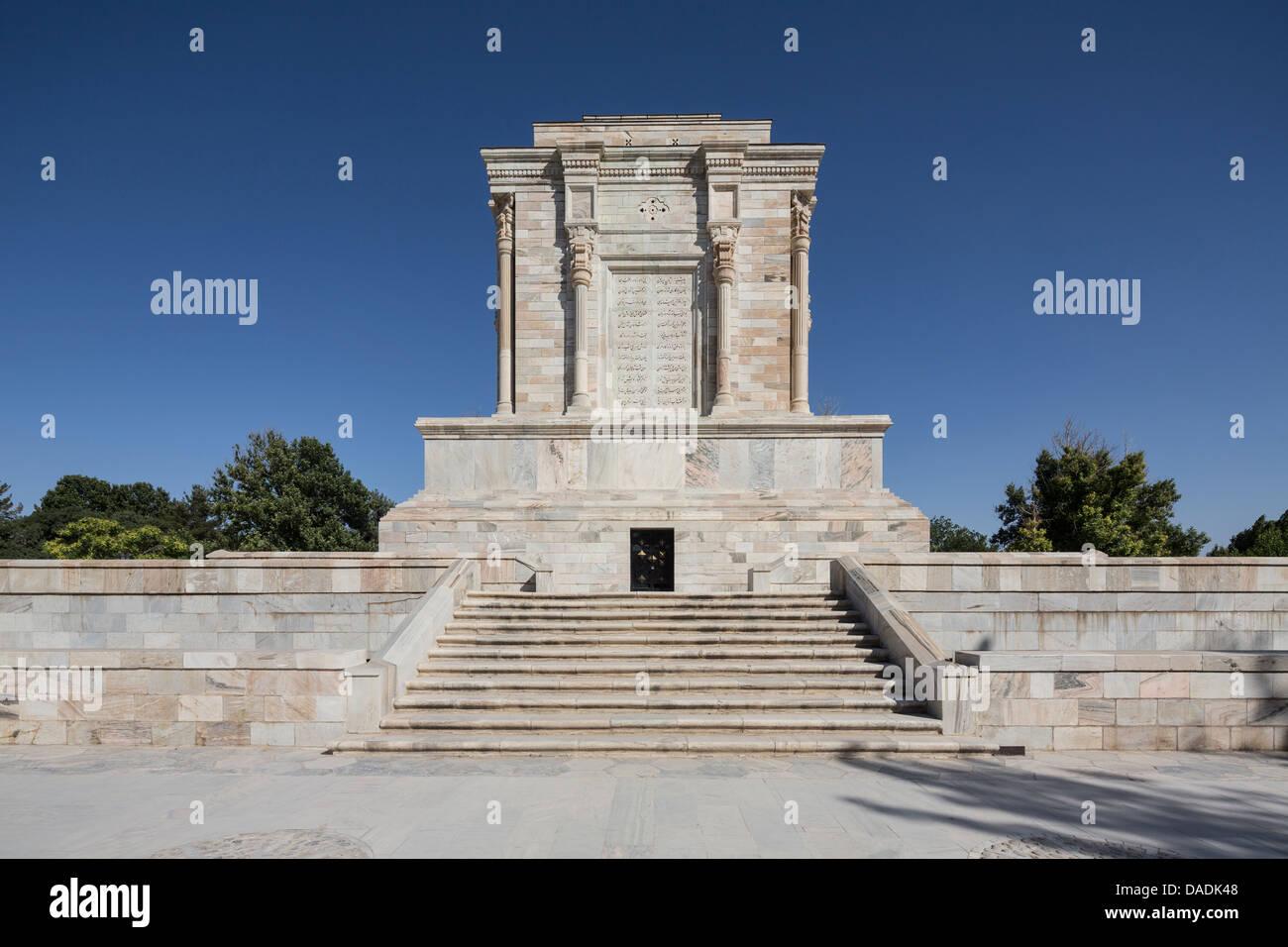Mausoleum of Ferdowsi in Tus, Iran - Stock Image