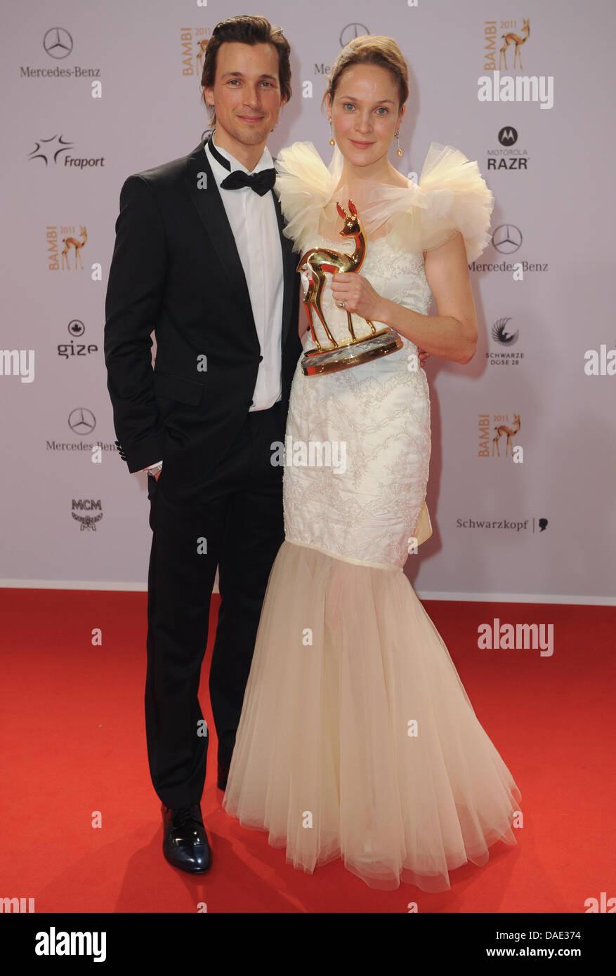 Janet Hain award smiling actress actor evening dress stock photos