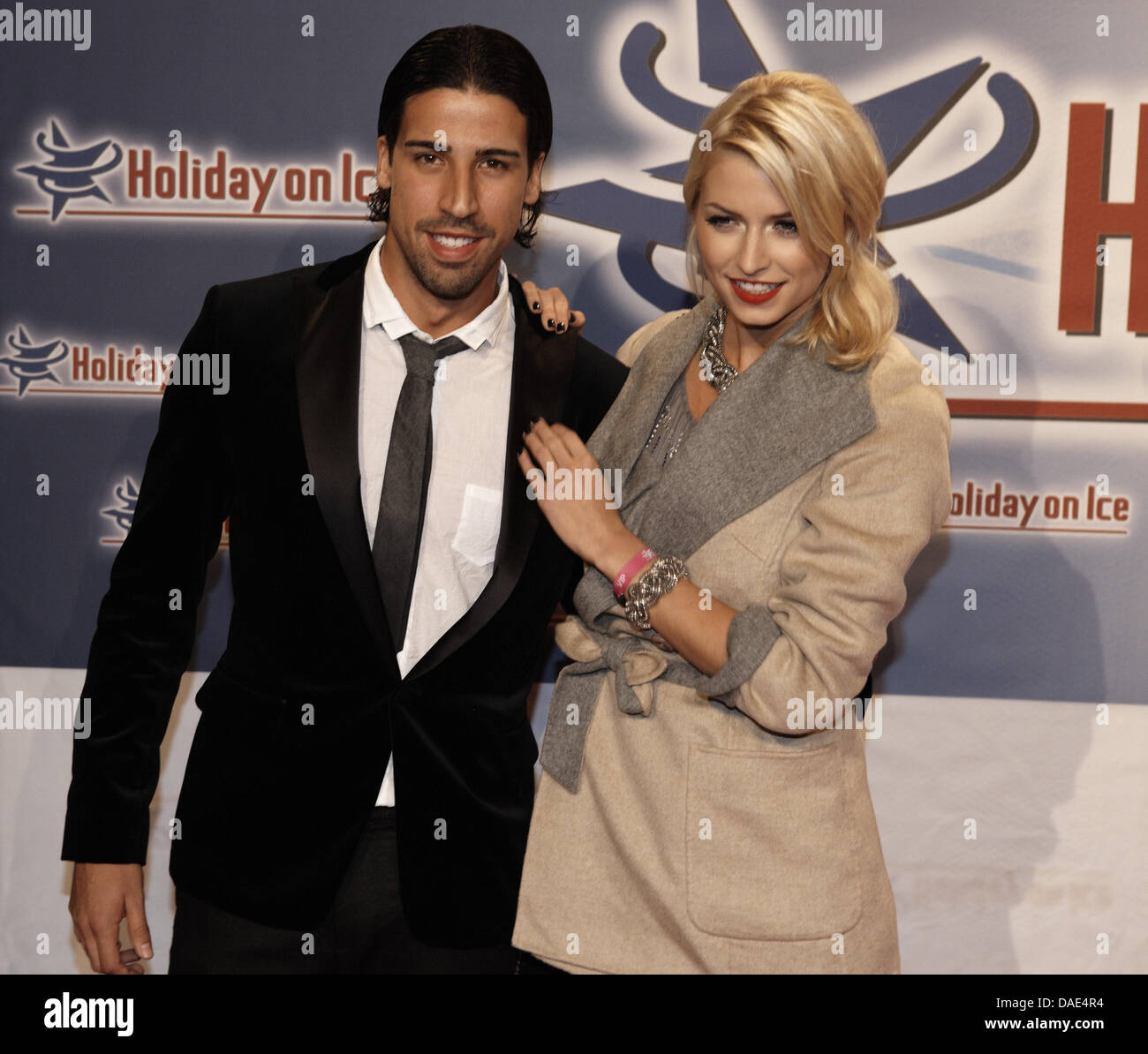 Soccer Player Sami Khedira And His Girlfriend Model Lena