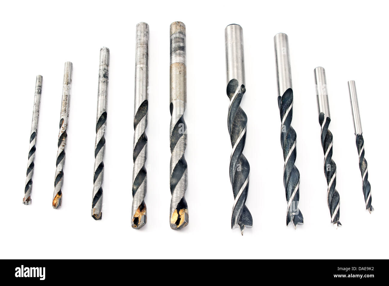 Drill Bits Cutout High Resolution Stock Photography And Images Alamy