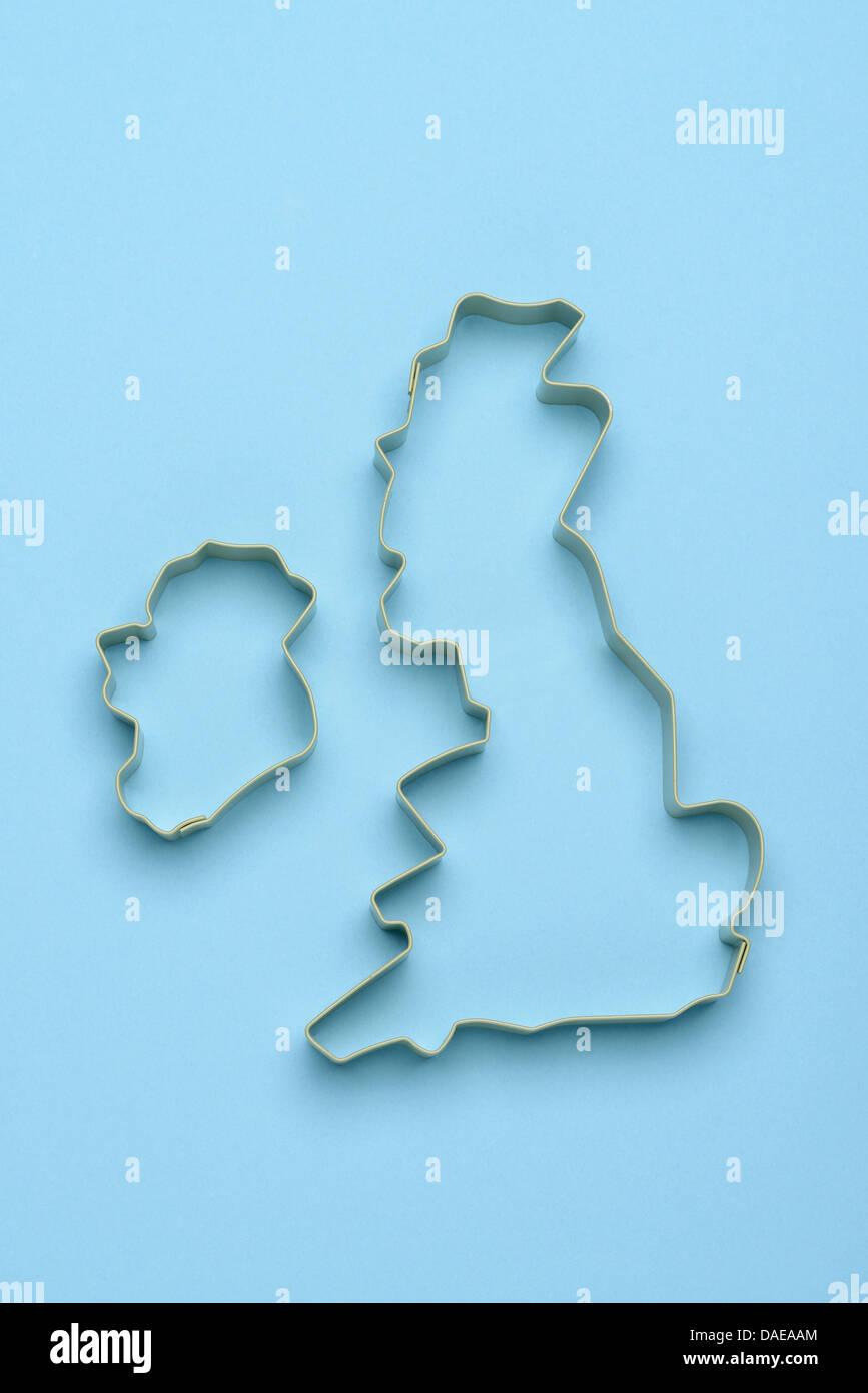 British Isles Map Stock Photos & British Isles Map Stock Images - Alamy