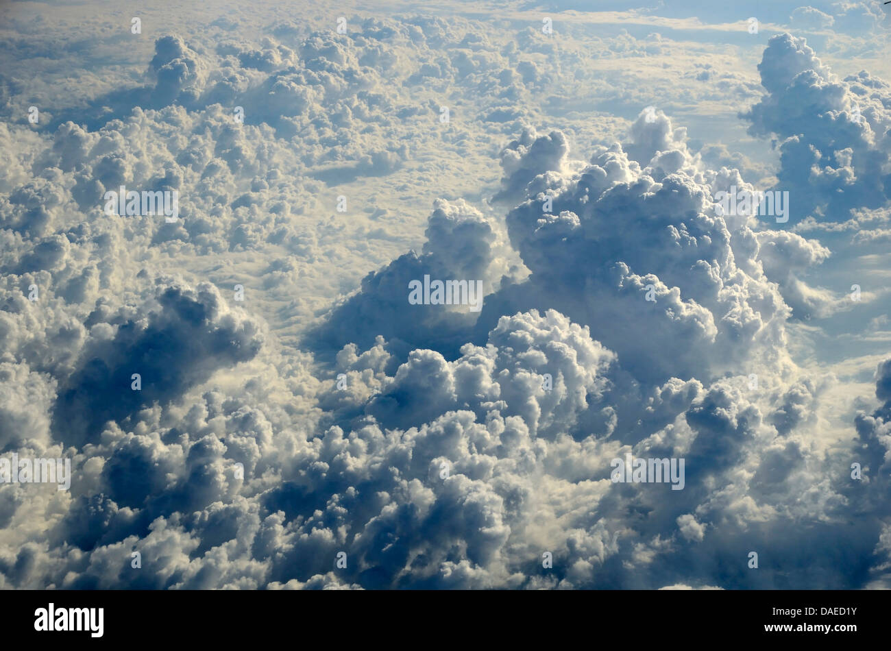 cloud cover, Italy - Stock Image