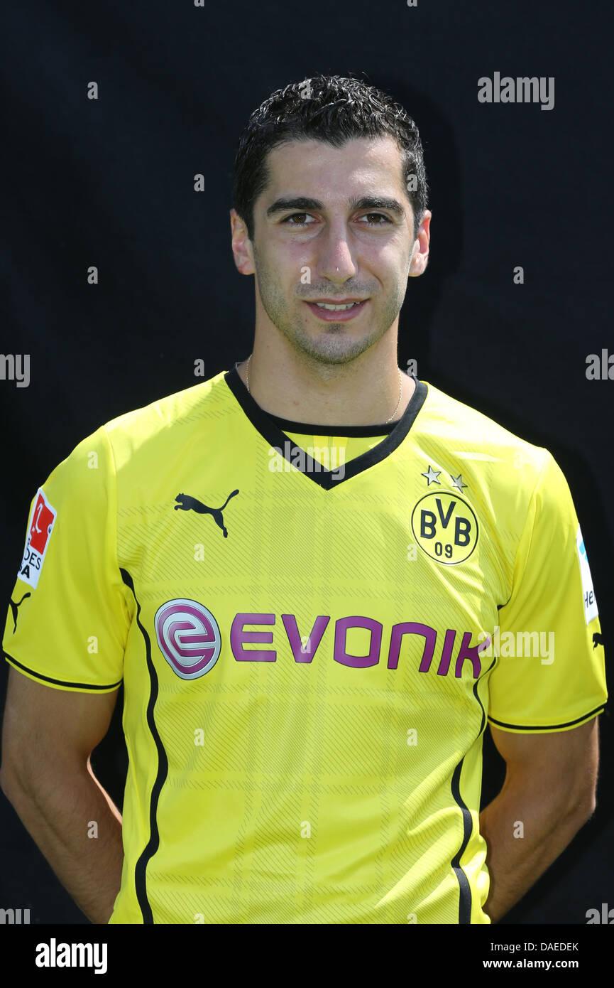 Henrikh MKHITARYAN, Muecke, Borussia Dortmund Saison 2013/2014 Season 2013/2014 - Stock Image