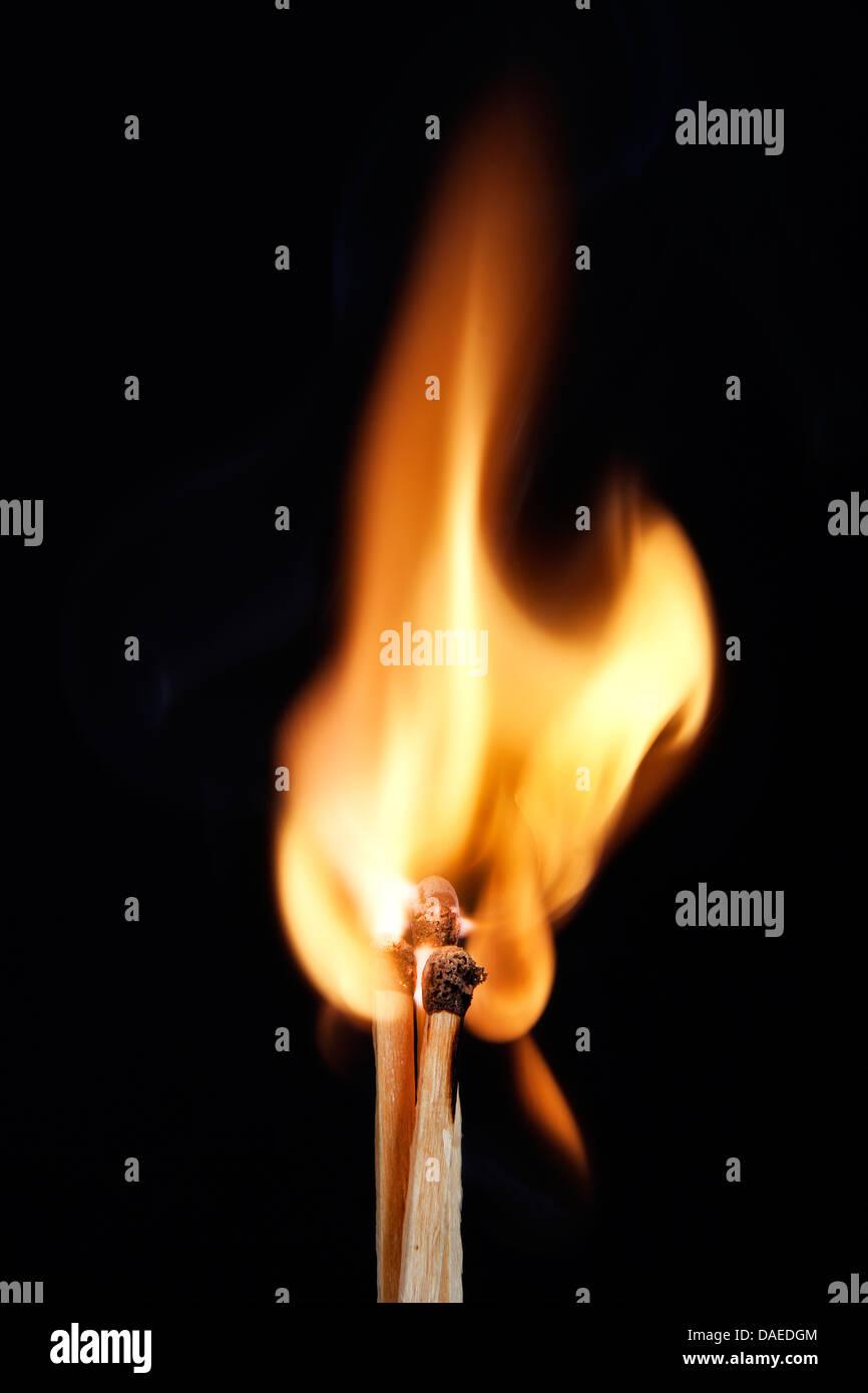 phosphorus burns - Stock Image