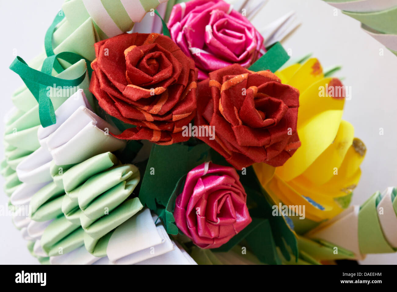 Origami Basket Stock Photos Origami Basket Stock Images Alamy