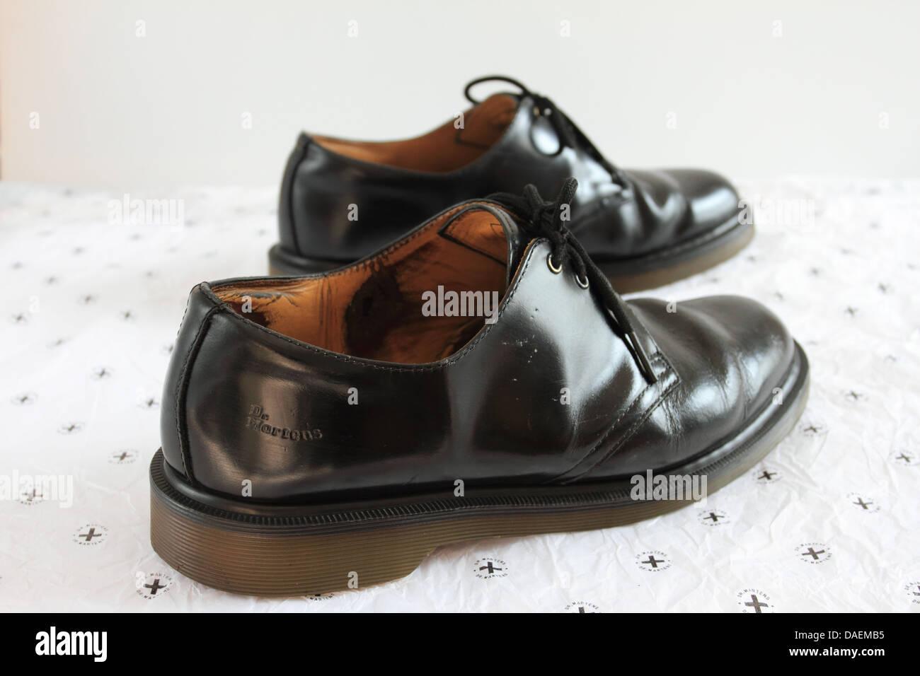 Dr. Martens shoes, air wair, black