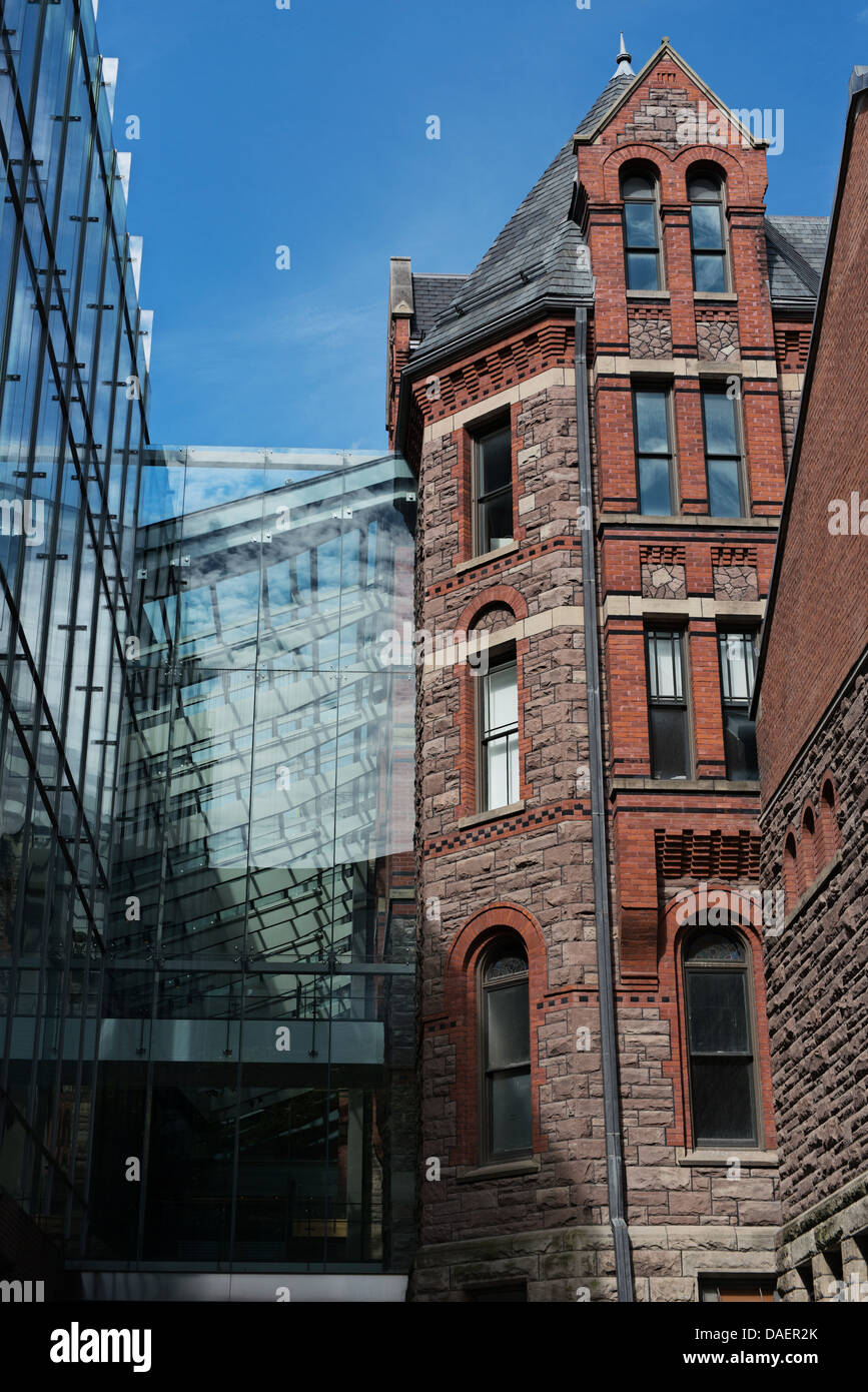 The Royal Conservatory of Music - Koerner Hall, Bloor Street, Toronto - Stock Image