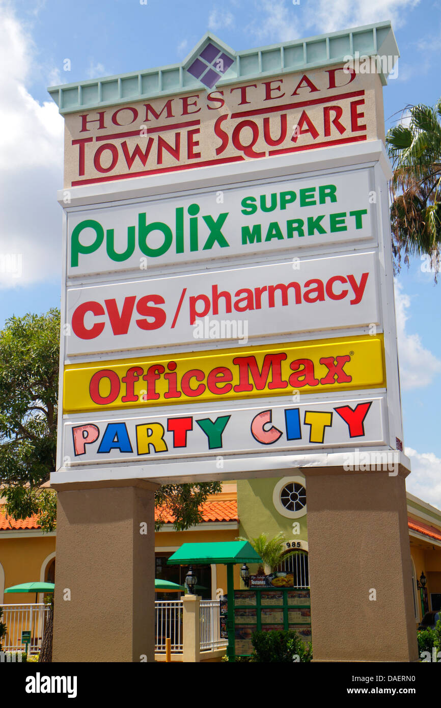 Strip Mall Sign Stock Photos & Strip Mall Sign Stock ...