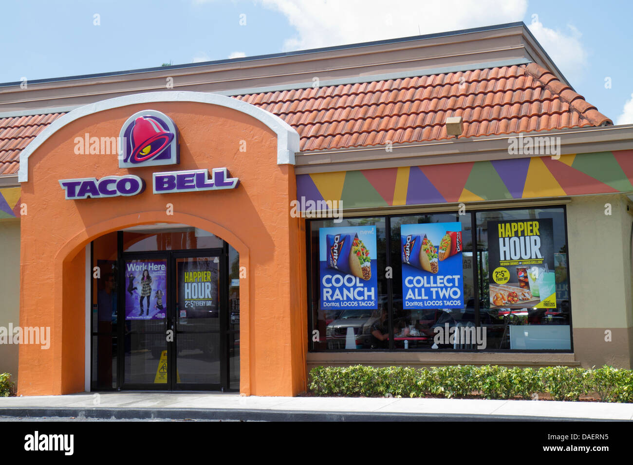 Miami Homestead Florida Taco Bell Fast Food Restaurant Mexican Food