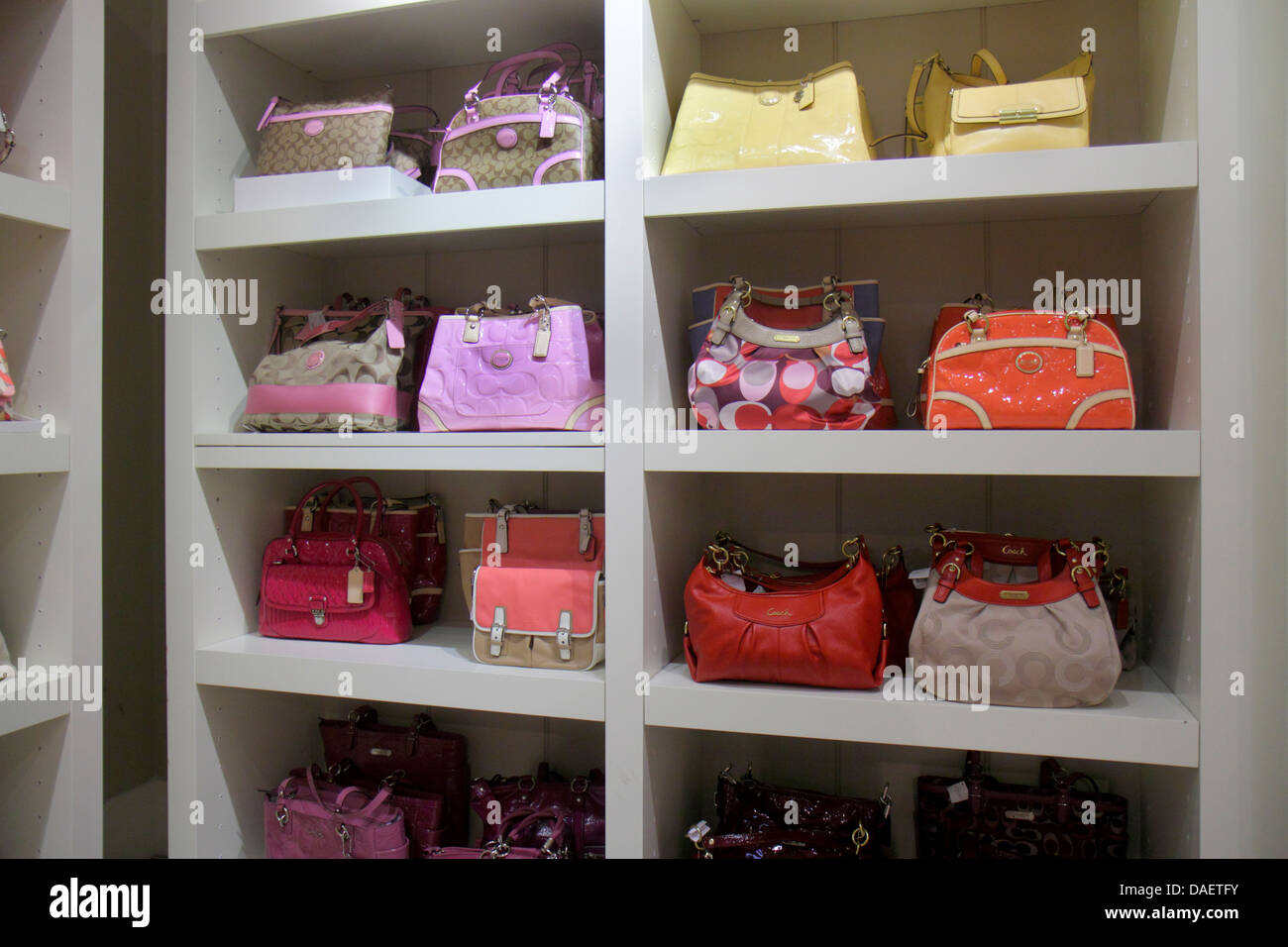 Miami Florida City Florida Florida Keys Outlet Center centre shopping Coach  women s sale retail display fashion f8f42ebfee330