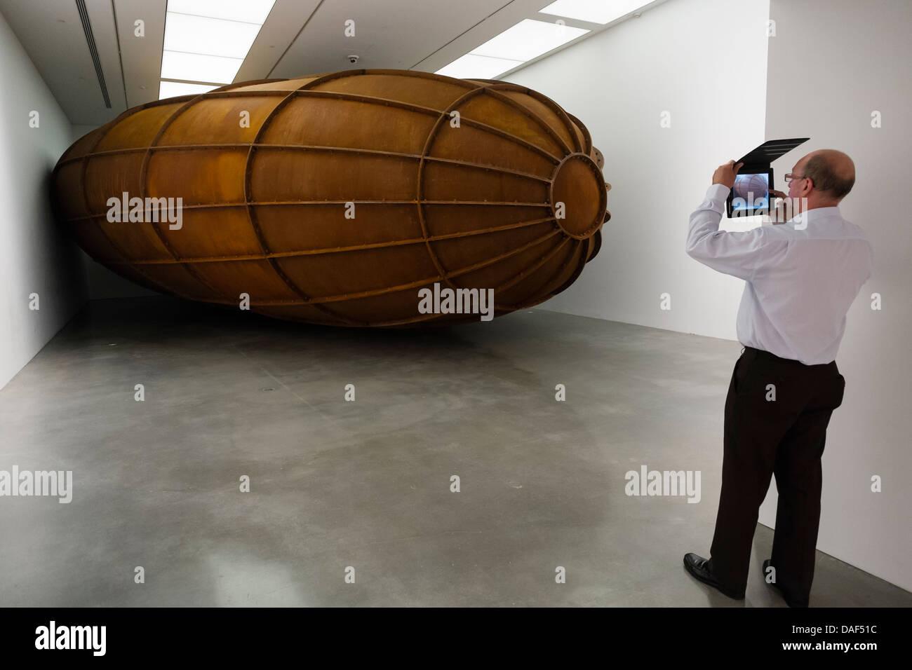 Museum of Contemporary Art in Sydney Australia - Stock Image