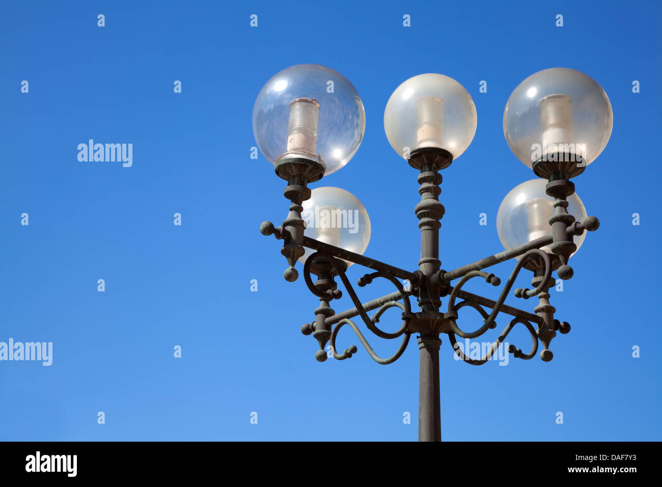 old street-lamp - Stock Image
