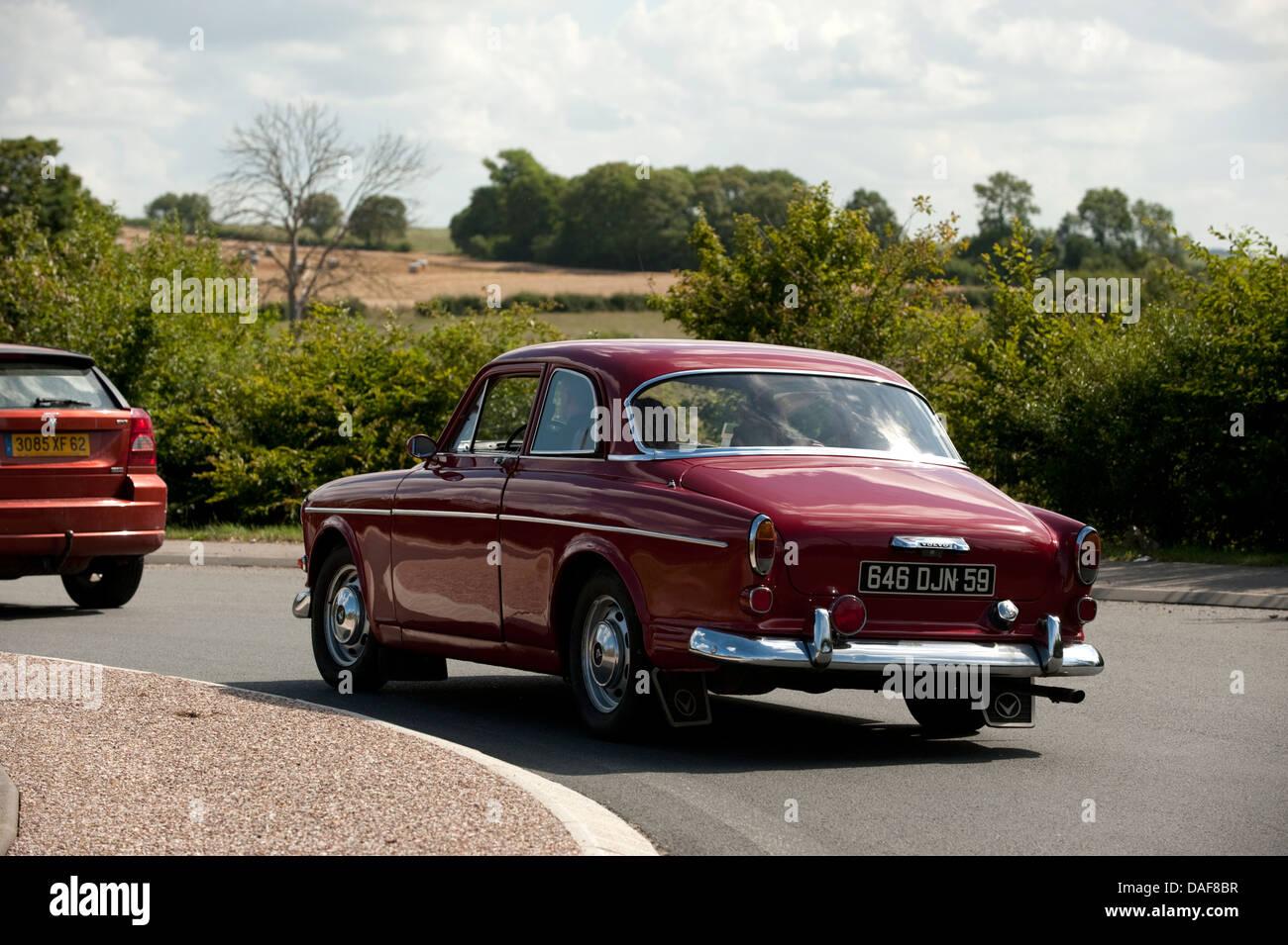 Classic Old Volvo Car Condette France Stock Photo 58113547