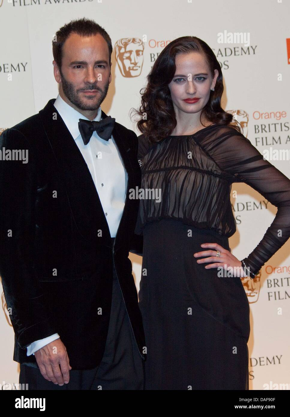 Director And Fashion Designer Tom Ford And French Actress Eva Green Stock Photo Alamy