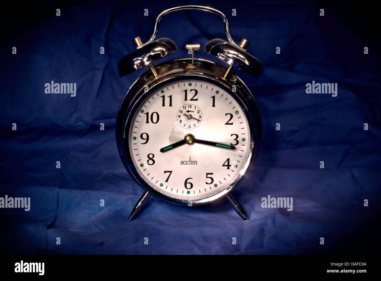 Alarm Clock Face - Stock Image