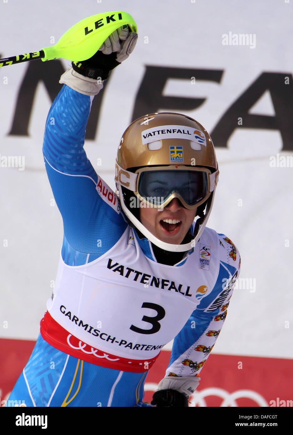 Maria Pietilae Holmner Of Sweden Celebrates After The Women S