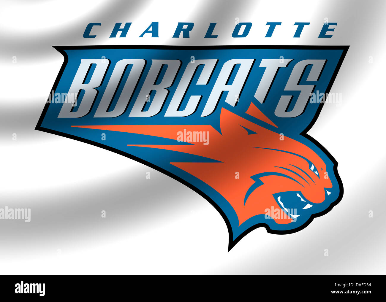 Charlotte Bobcats Logo Symbol Icon Flag Emblem Stock Photo 58117224