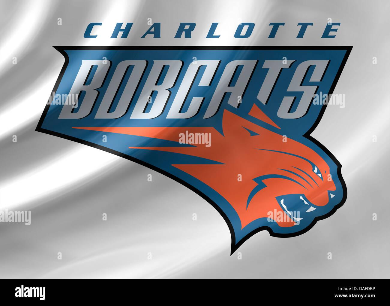 Charlotte Bobcats Logo Symbol Icon Flag Emblem Stock Photo 58117466