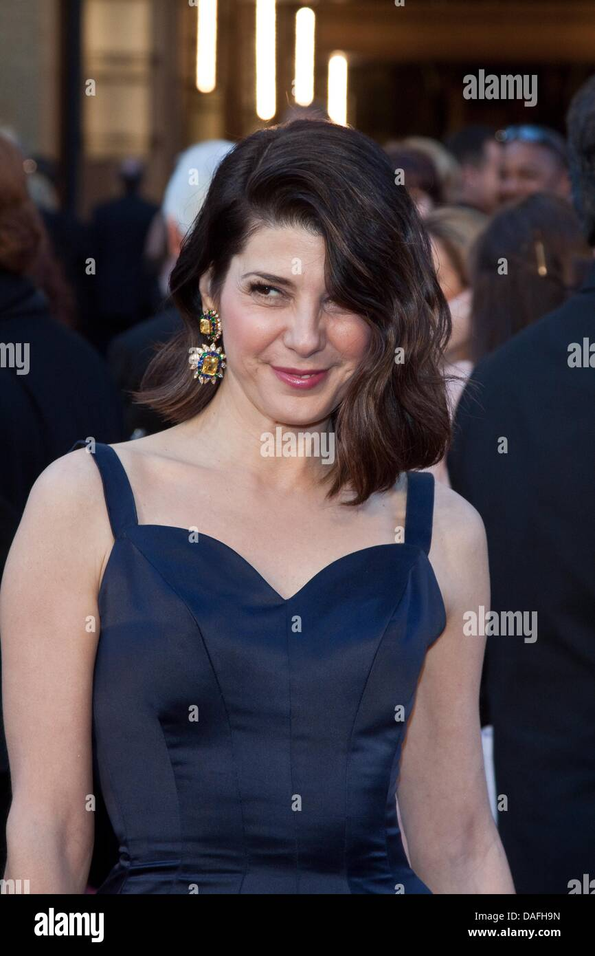 US actress Marisa Tomei arrives for the 83rd Academy Awards, the Oscars in Los Angeles, USA, 27 February 2011. Photo: - Stock Image