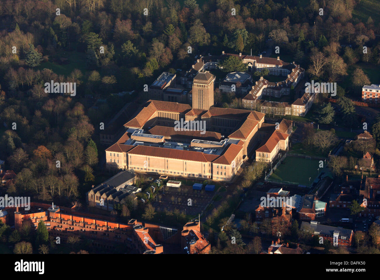 University Library, Cambridge - Stock Image