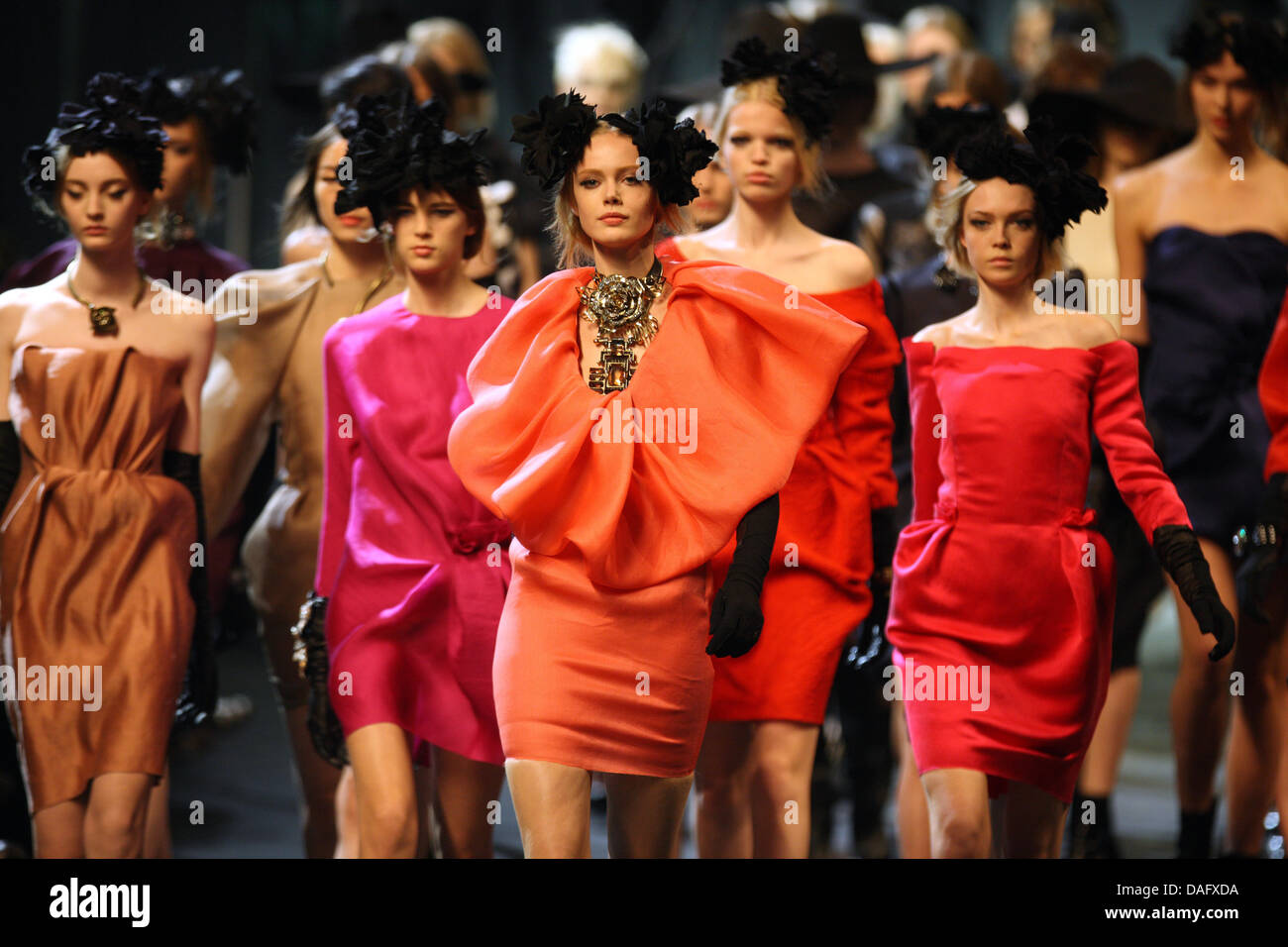 Moroccan Born Israeli Fashion Designer Alber Elbaz Presents His Stock Photo Alamy