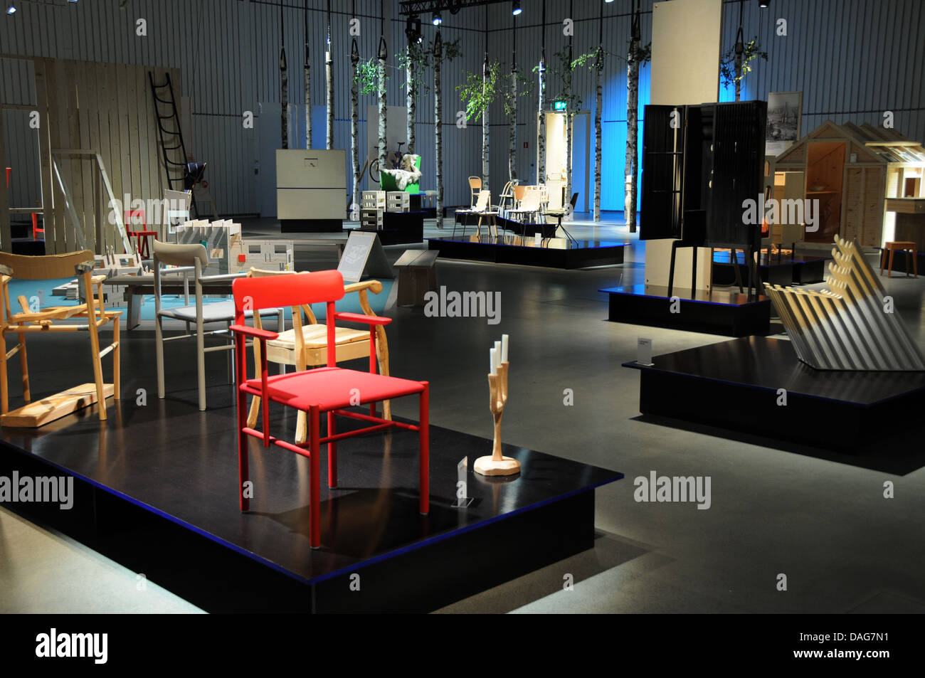 Artipelag is a new international venue for art, good food, events and activities ... set on Värmdö in - Stock Image