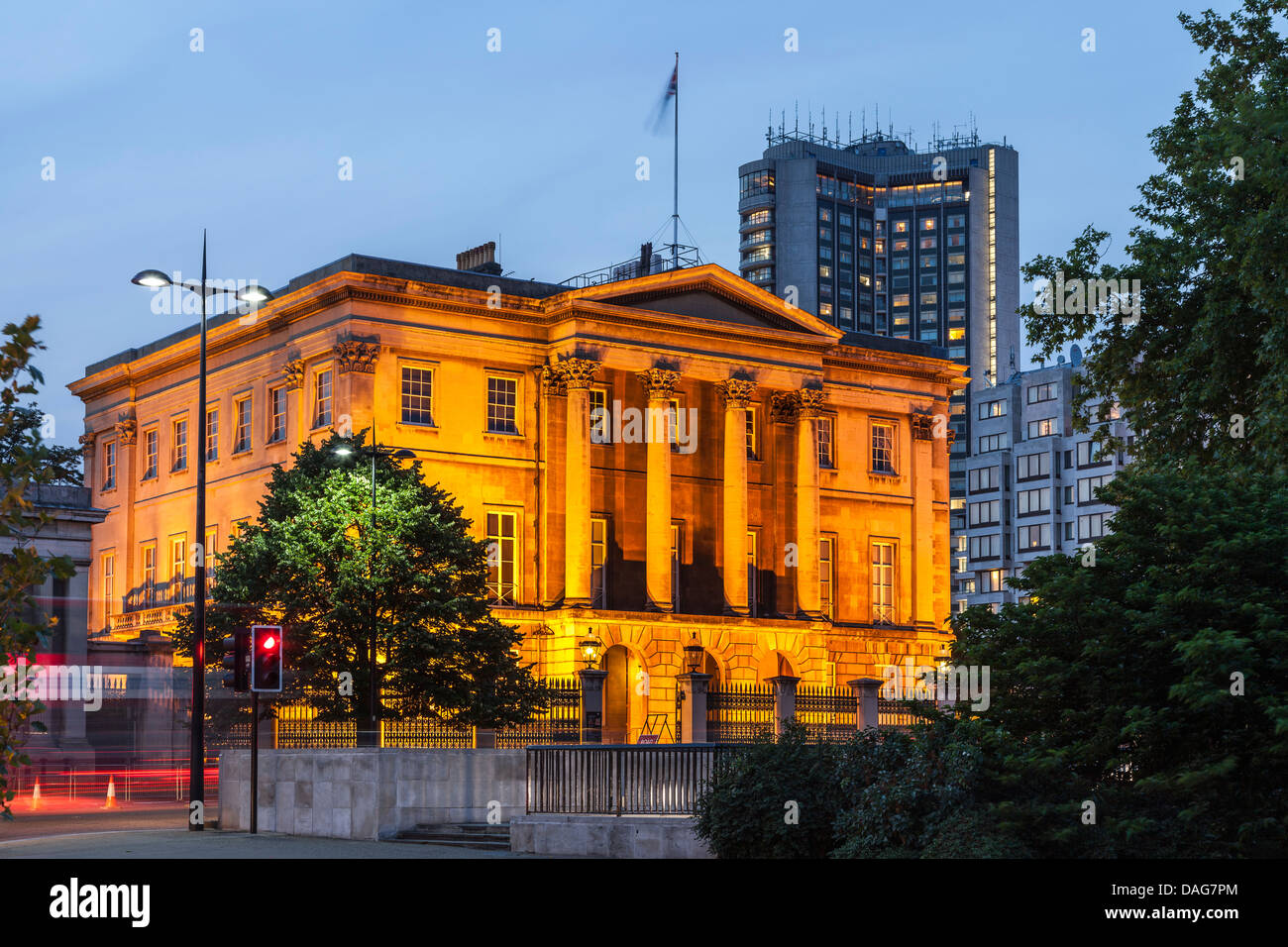 Apsley House,The Duke of Wellington Museum,Hyde Park Corner,London,England - Stock Image