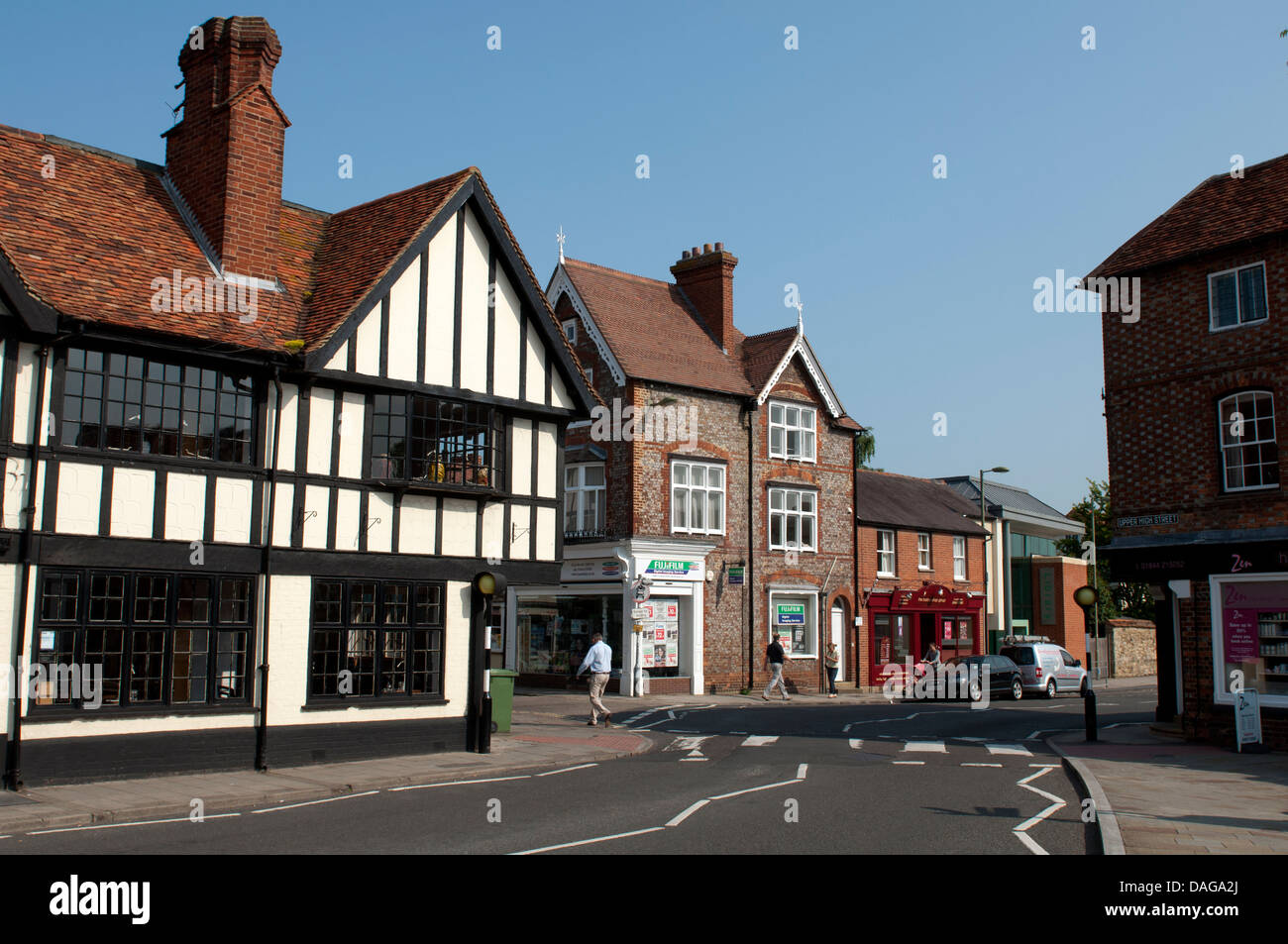 Upper High Street, Thame, Oxfordshire, UK - Stock Image
