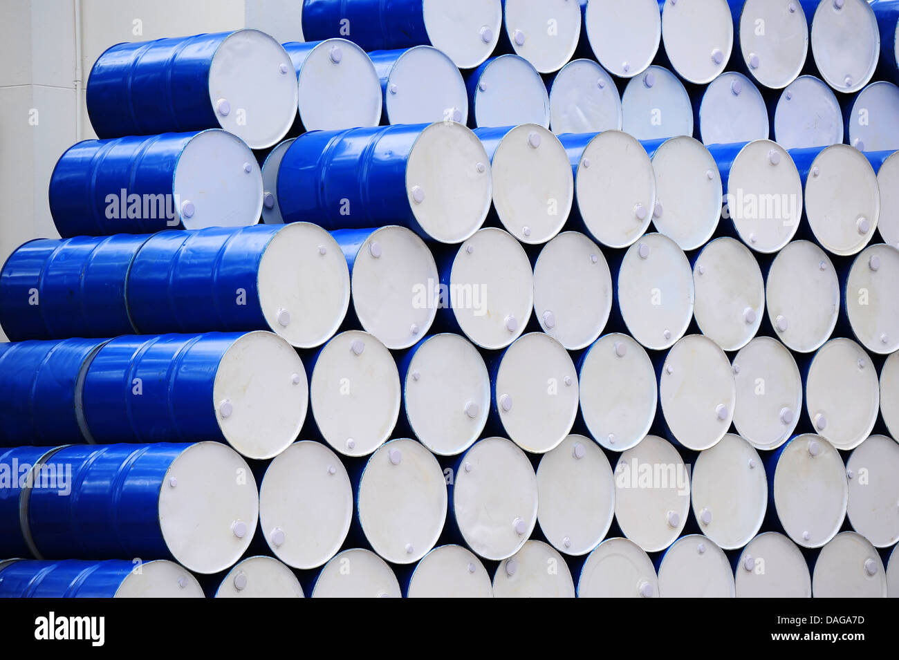 Oil Barrels - Stock Image