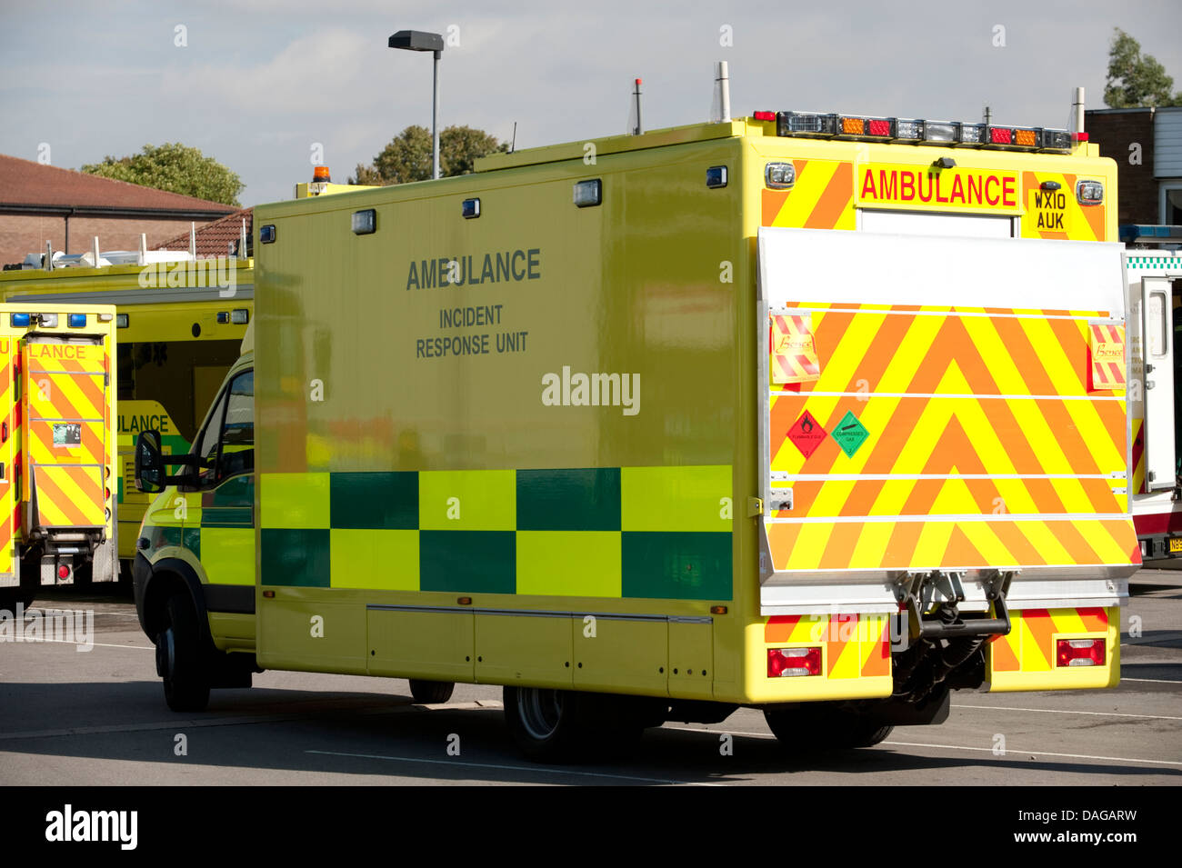 Ambulance Paramedic Incident Response Unit - Stock Image