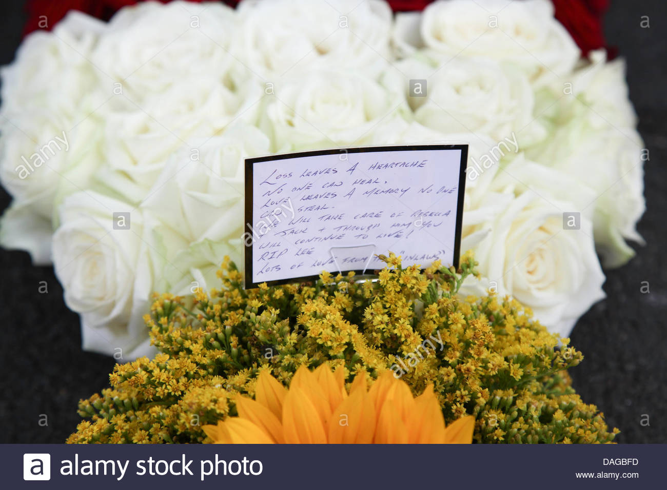Funeral Flowers Sympathy Stock Photos Funeral Flowers Sympathy