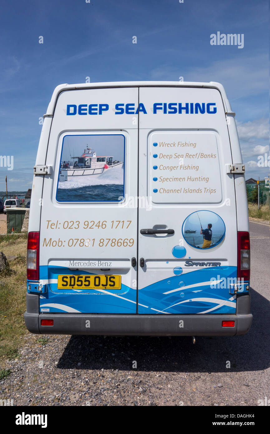 Deep Sea Fishing Fishing Boat Valkyrie Portsmouth - Stock Image
