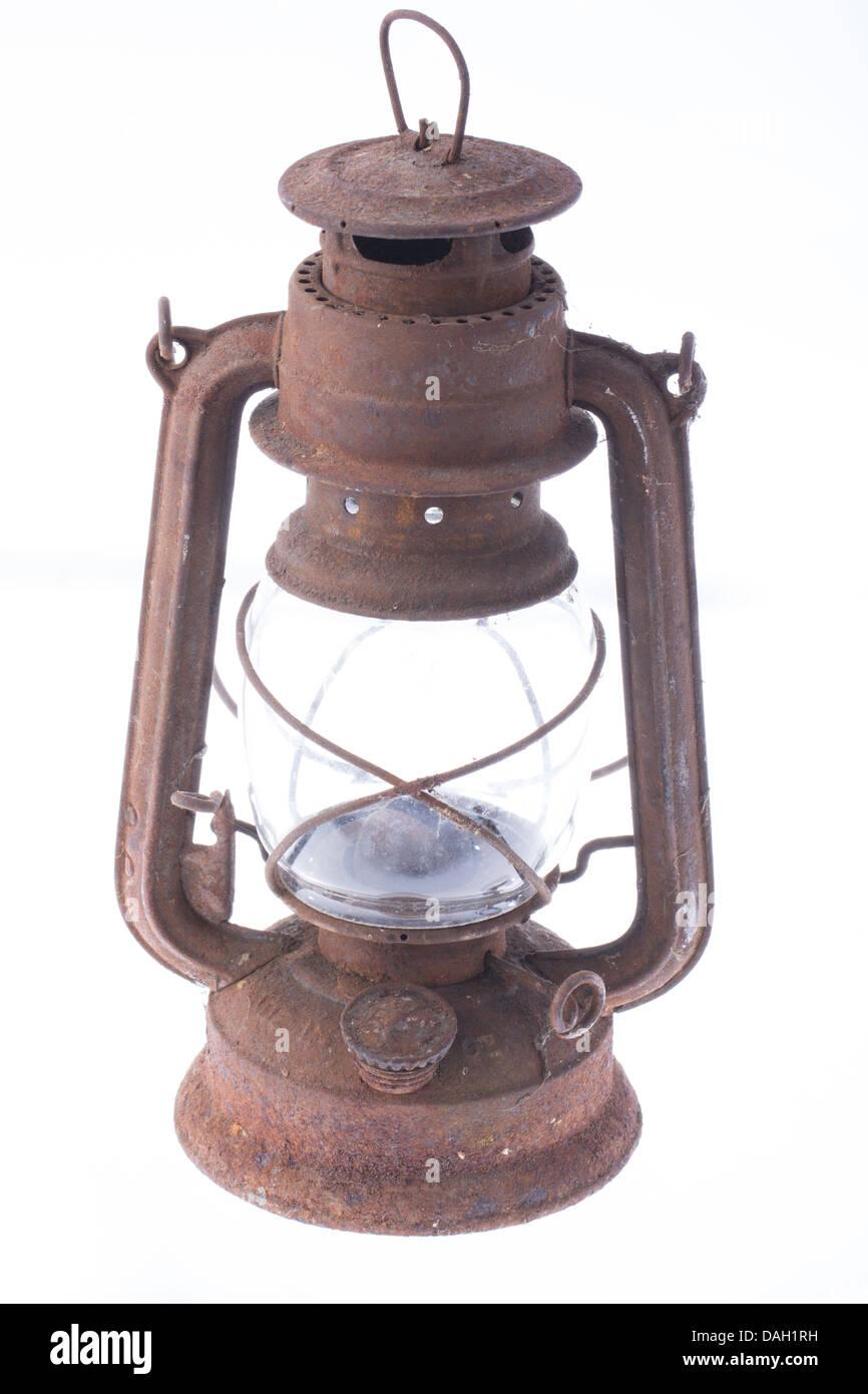 Oil Lamp - Stock Image