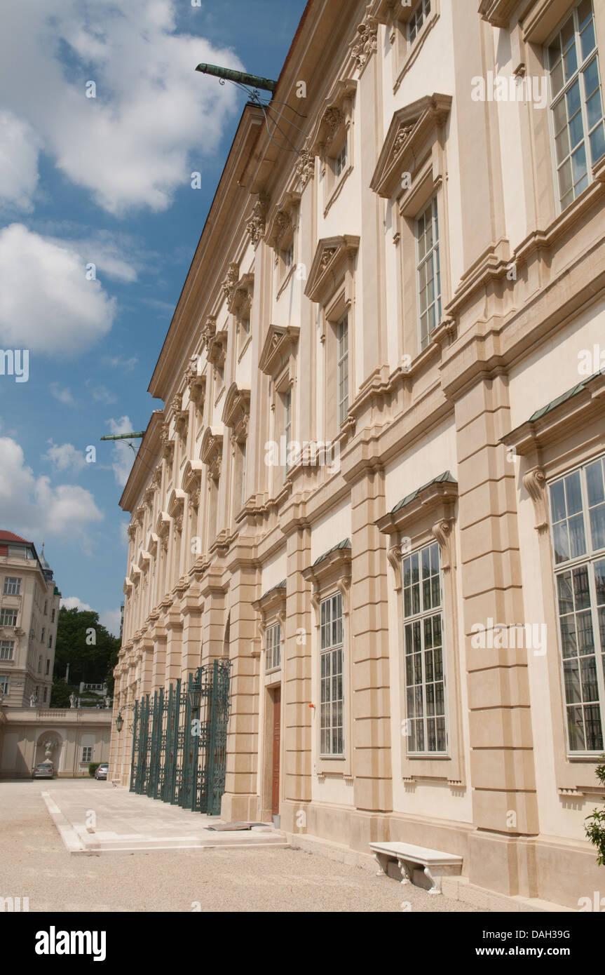 Palais Liechtenstein, Vienna, Austria. Stock Photo