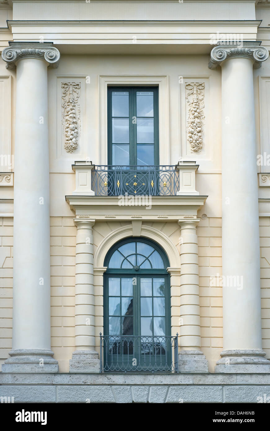 Prinz Carl Palace in Neoclassical Style in Munich - Stock Image