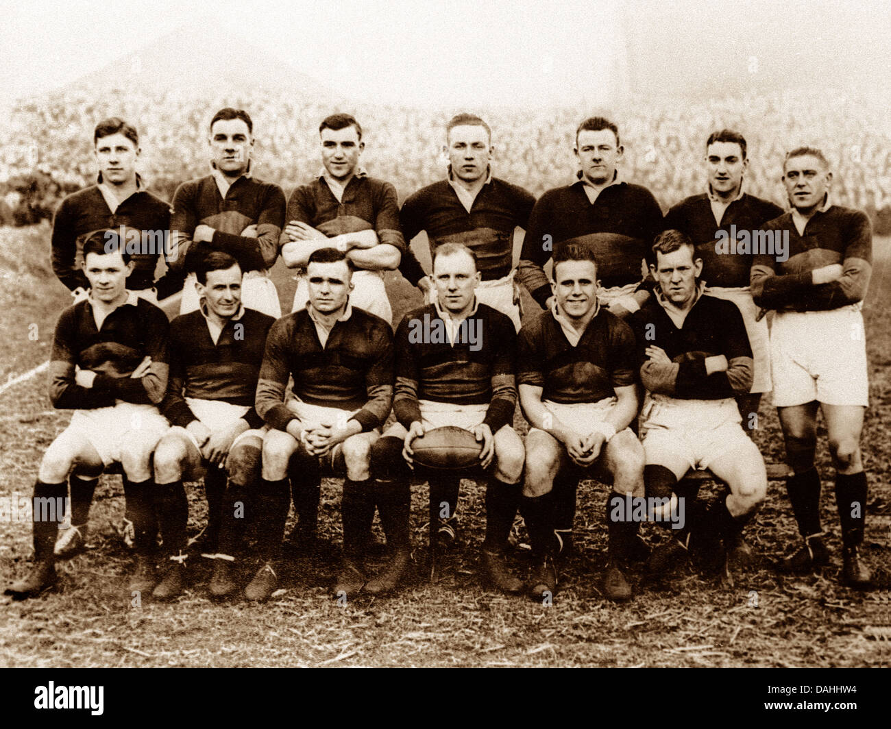 Rugby Wakefield Trinity in 1930 - Stock Image