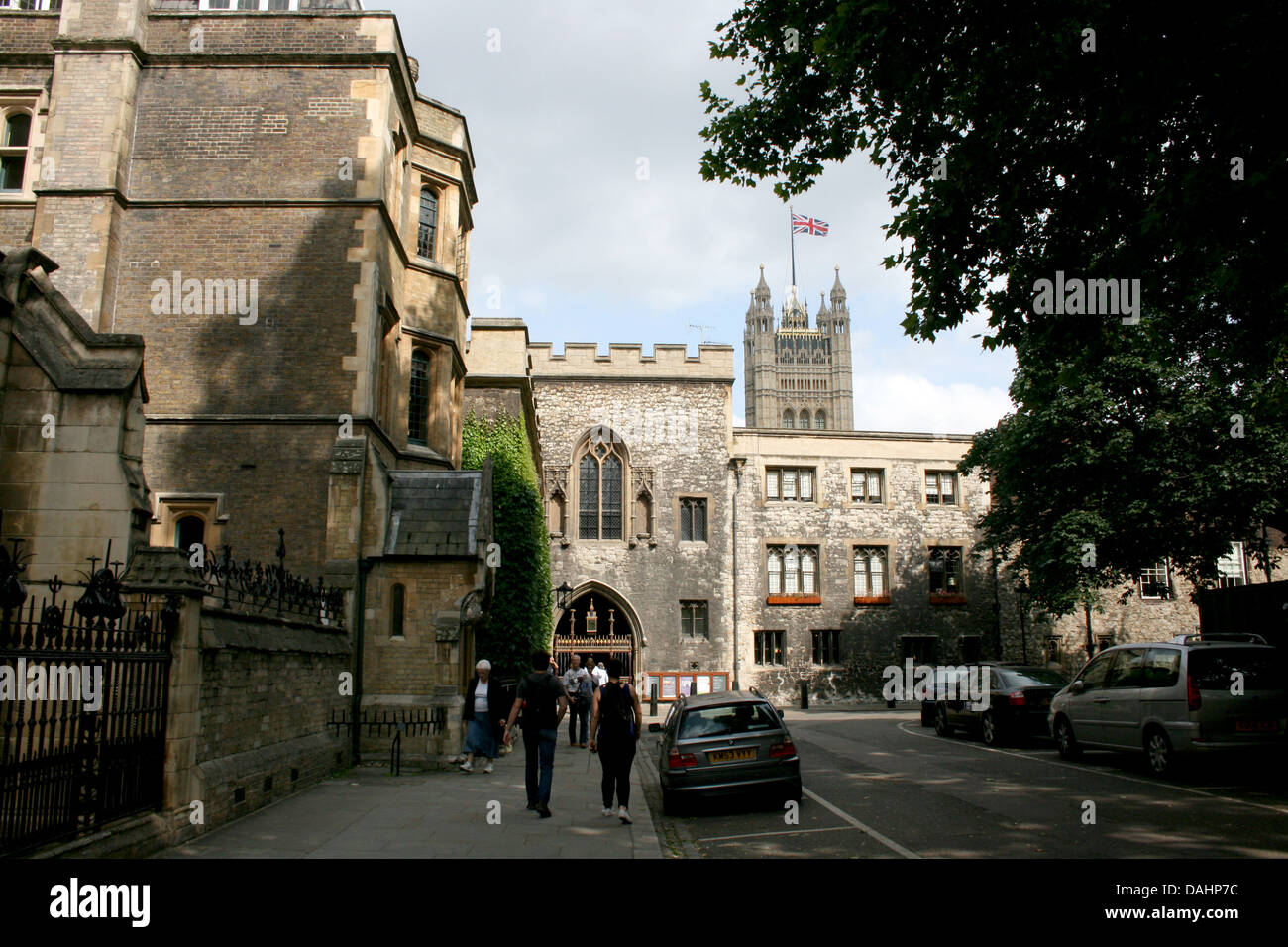 deans yard city of westminster london uk 2013 - Stock Image