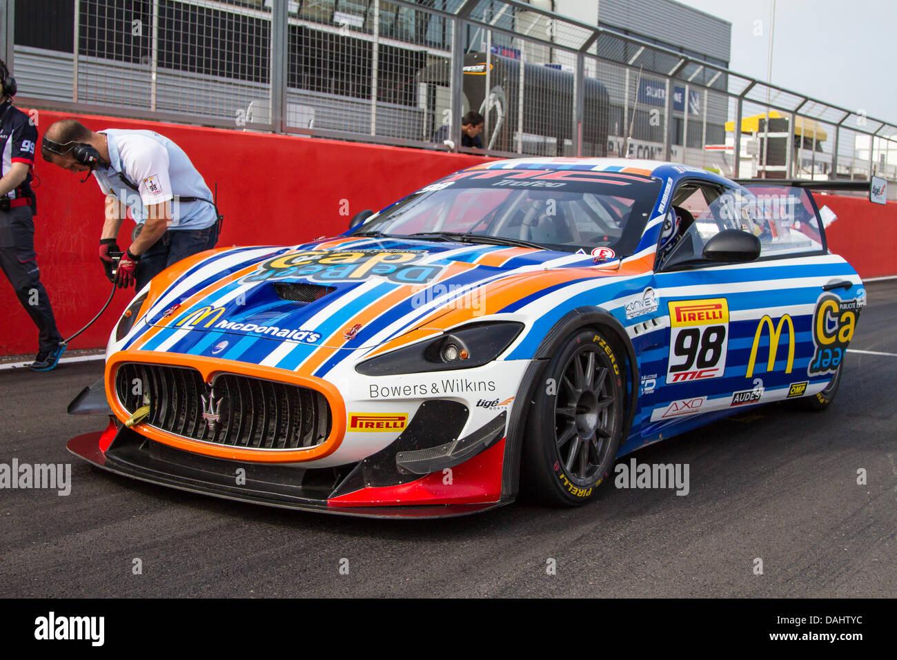 maserati trofeo mc world series photo's of cars on grid getting