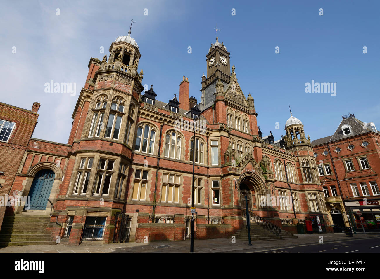 York Magistrates Court building in York city centre UK - Stock Image