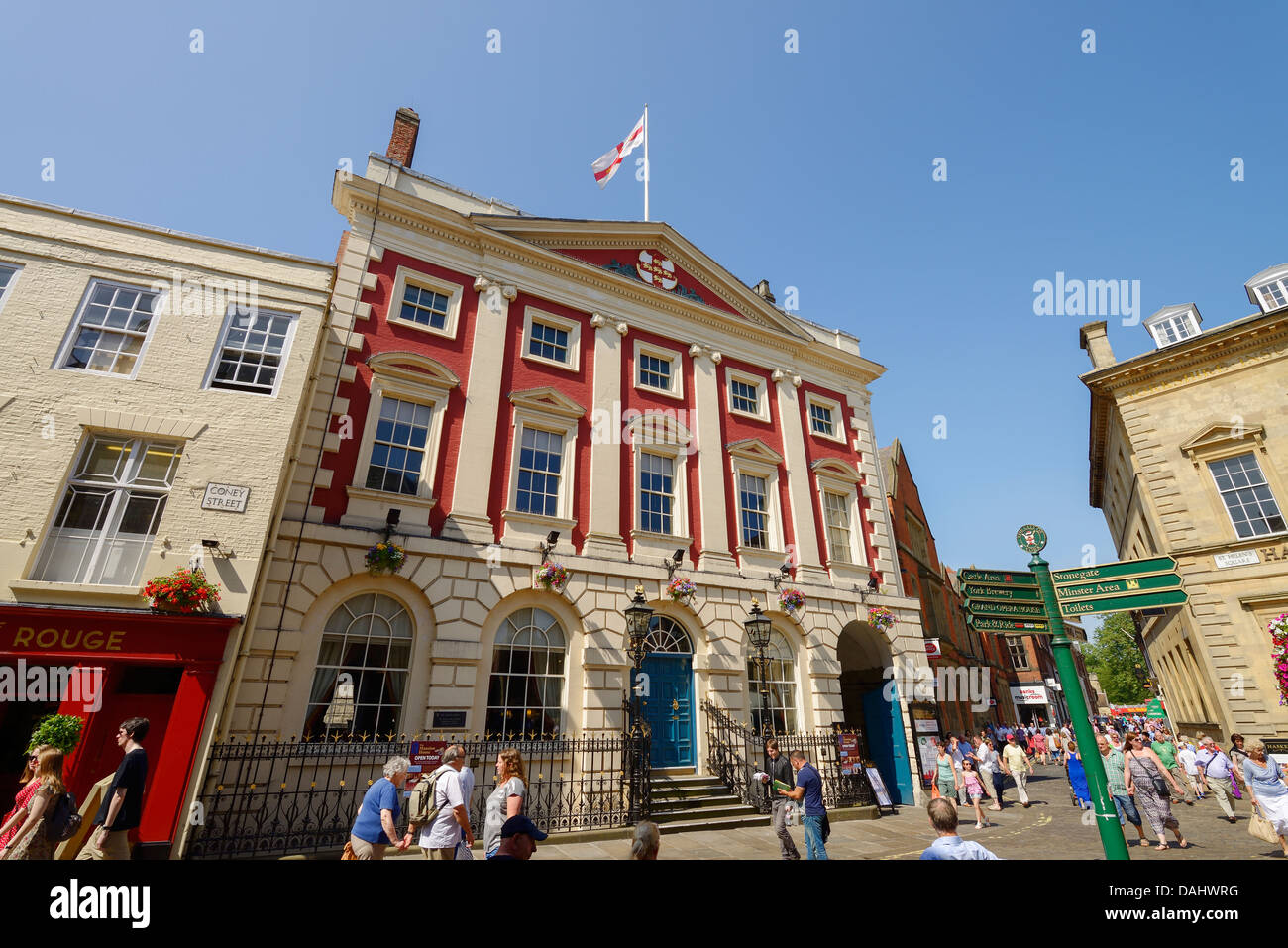 The Mansion House in York city centre UK - Stock Image