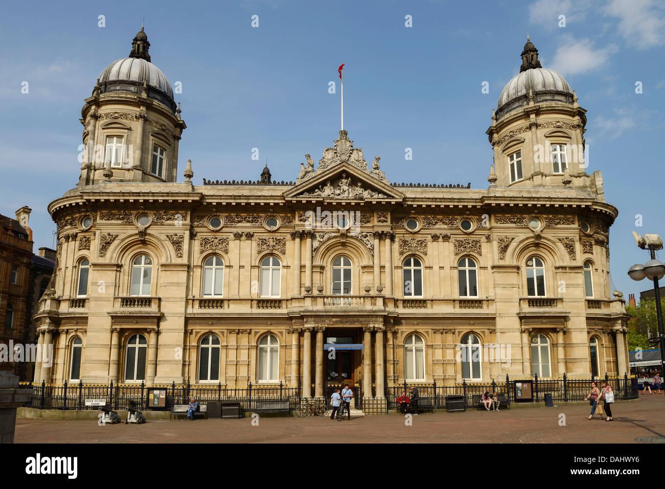 Hull Maritime Museum - Stock Image