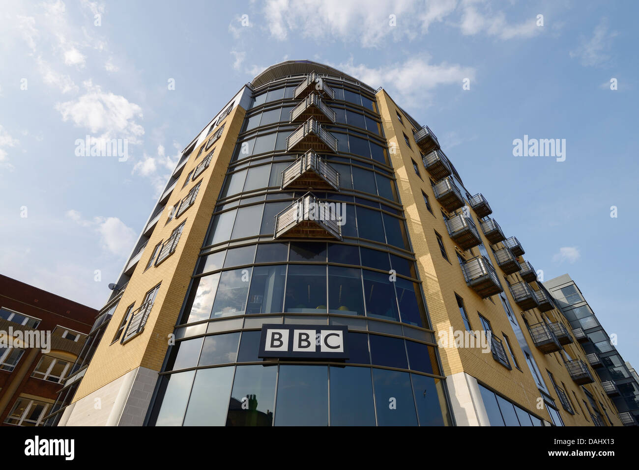 The BBC offices in Hull city centre - Stock Image
