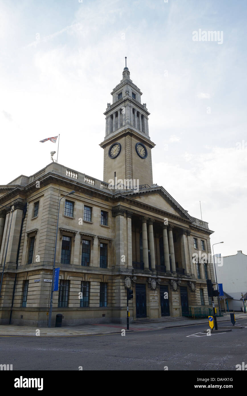 The Guildhall in Hull city centre UK - Stock Image